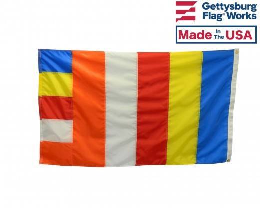 Buddhist flag 3x5'