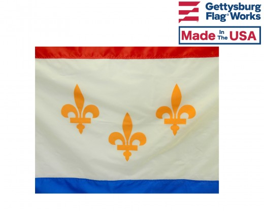 New Orleans City Flag (Louisiana, USA)