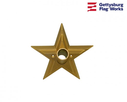 Gold Star Flagpole Bracket