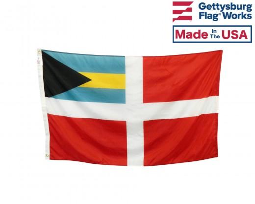 Bahamas at Sea Flag - Bahamas Civil Ensign
