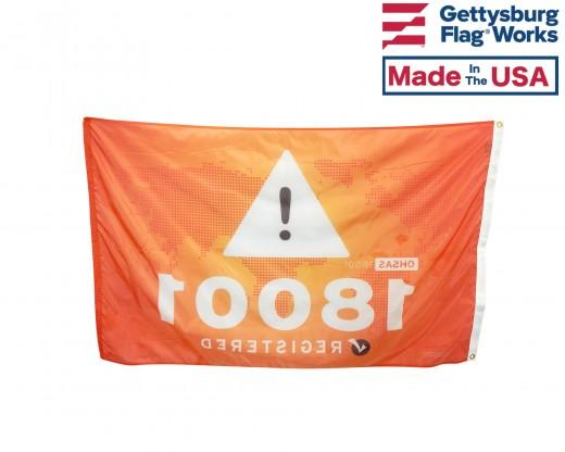 OHSAS 18001 Flag Photo