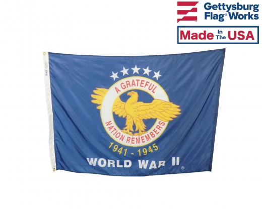 WWII Commemorative Flag