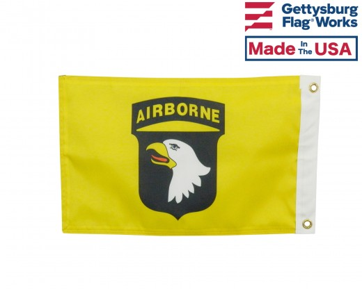 101st Double Sided Boat Flag