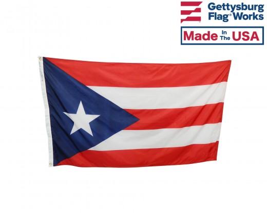 Puerto Rico Flag - Outdoor
