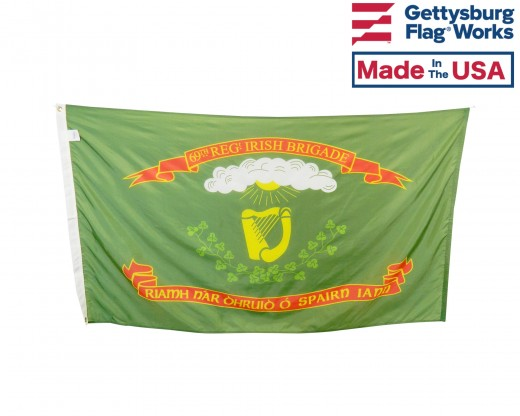 63rd N.Y Irish Brigade Regiment Flag - 3x5'