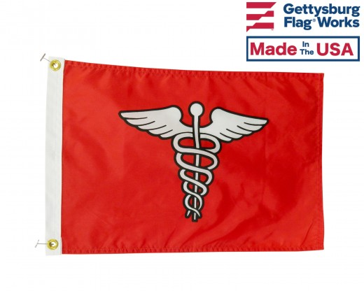 "Surgeon Flag - 12x18"""