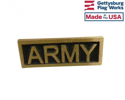 Army Insignia Plaque