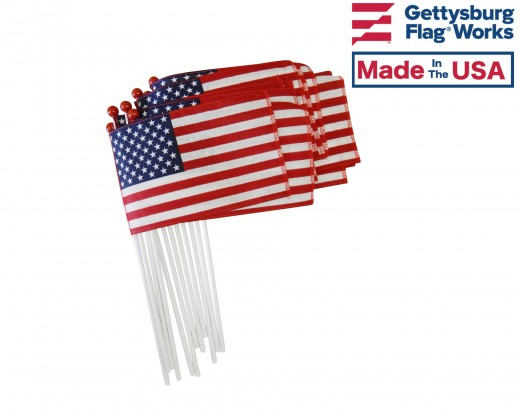 Saf-T-Ball - Cotton American Stick Flag