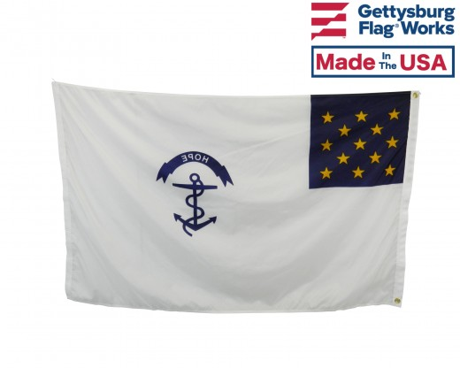 Rhode Island Regiment Flag