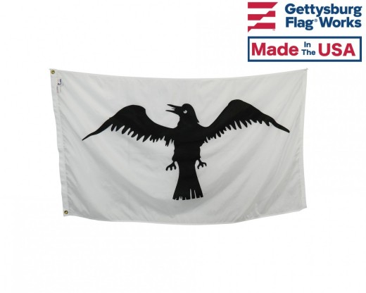 Viking Raven Flag