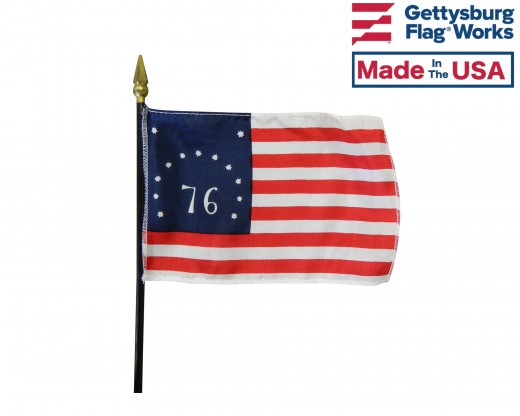 Flags of our Country Set-4x6""