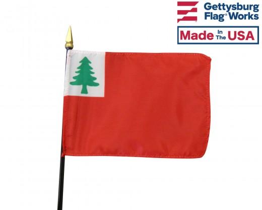 "Continental Stick Flag - 4x6"""