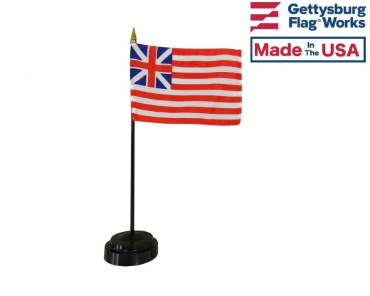 Grand Union Stick Flag - 4x6""