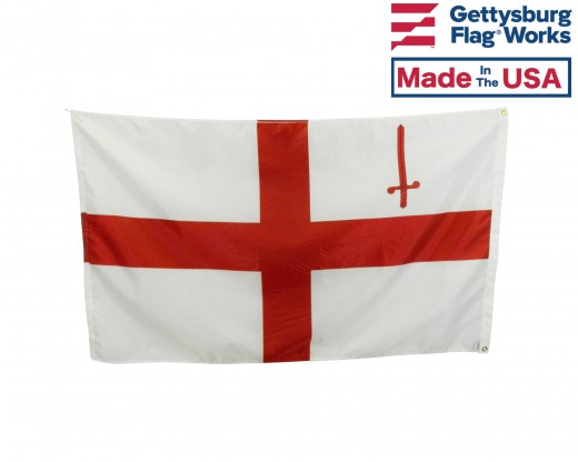 City of London, England Flag