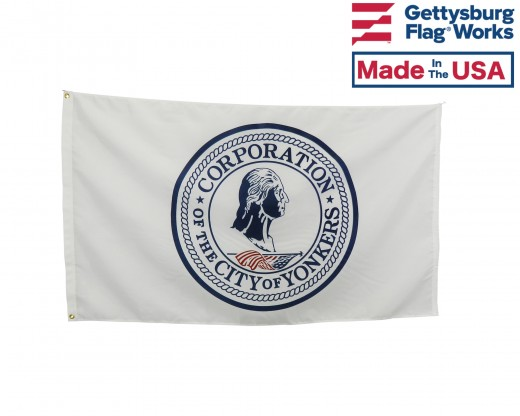 City of Yonkers, New York Flag