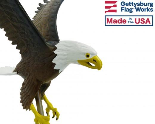 Flying Eagle, Natural Aluminum