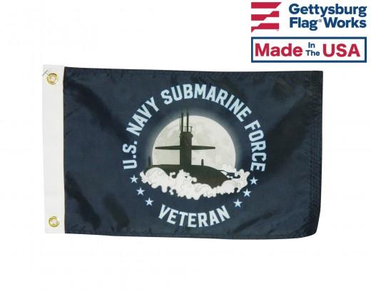 U.S. Navy Submarine Force Veteran Flag