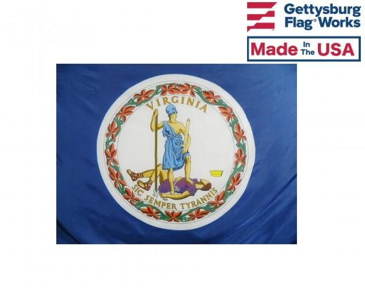 Virginia Flag - Outdoor