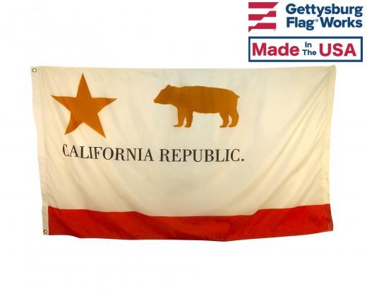 California Republic Historical Flag