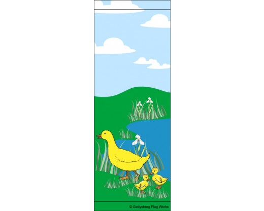 Duck Family Avenue Banner