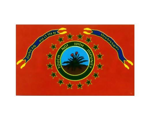 Duncan Rifleman 1862 Flag - 3x5'
