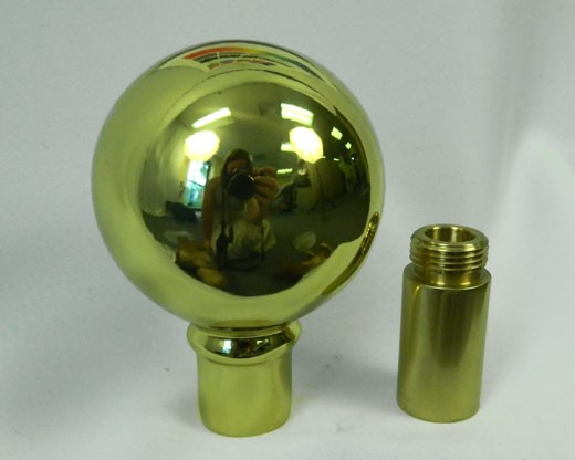 Gold Parade Ball with Ferrule