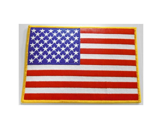 "American Flag Patch, 5x7"" Left"