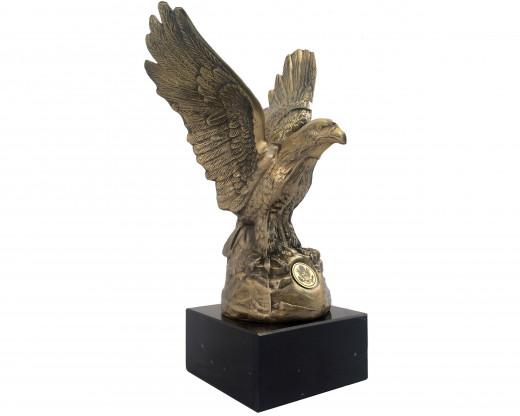 Eagle Statue Left