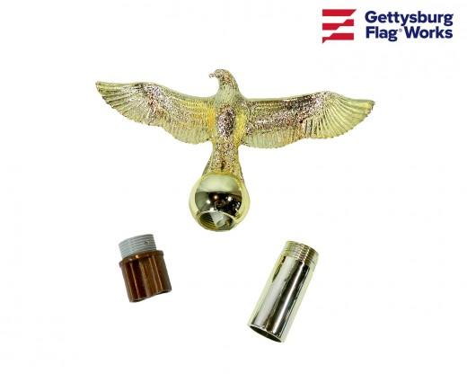 Gold Plastic Eagle