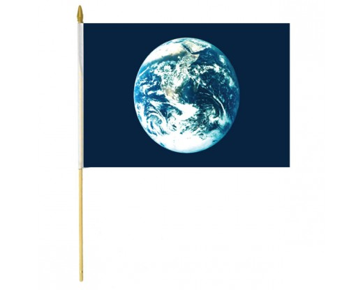 Earth Stick Flag