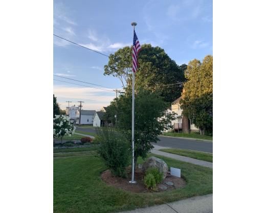 Easy Order Aluminum Flagpole 20'