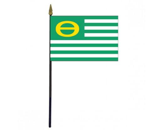 """Ecology Stick Flag - 4x6"""""""
