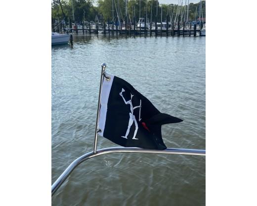 Edward Teach Pirate Flag