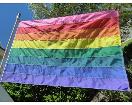 8 stripe original rainbow flag