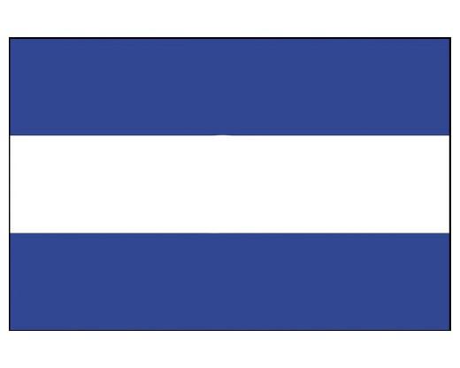 El Salvador Flag (No Seal) - 4x6' - Header & Grommets