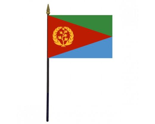 "Eritrea Stick Flag - 4x6"""
