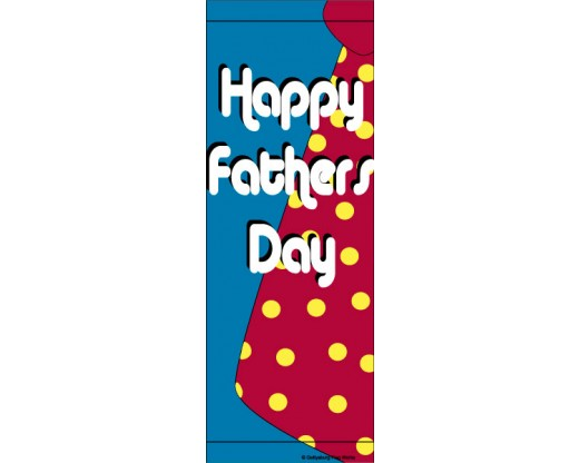 Fathers Day Tie Avenue Banner