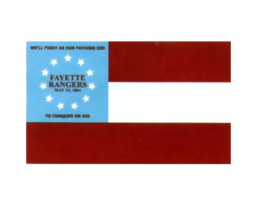 Fayette Rangers Co.F. 13th GA Infantry Flag - 3x5'