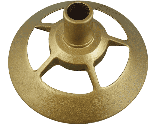 Federal Floor Stand Gold