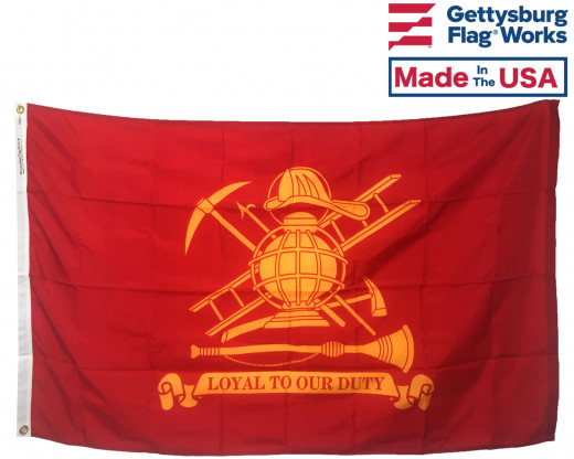 Firefighter (Loyal) Flag