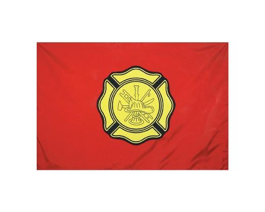Fireman Department Flag - 3x5'