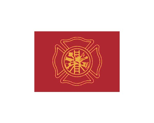 Firefighters Flag - 3x5'