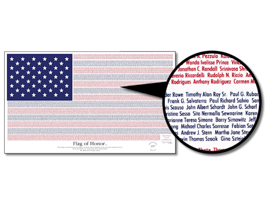 Flag of Honor - 3x5'