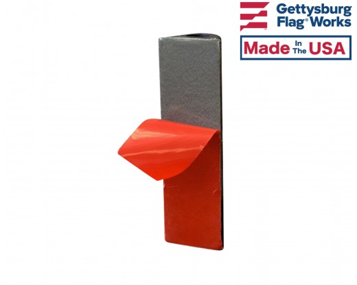 Adhesive Flag Holder for Gravestone Memorials