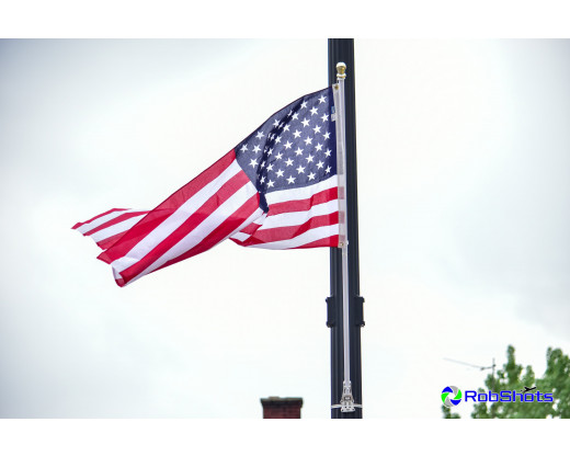 Light Pole Flag Set Single