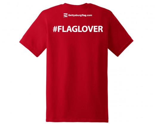 #FlagLover T-Shirt Back