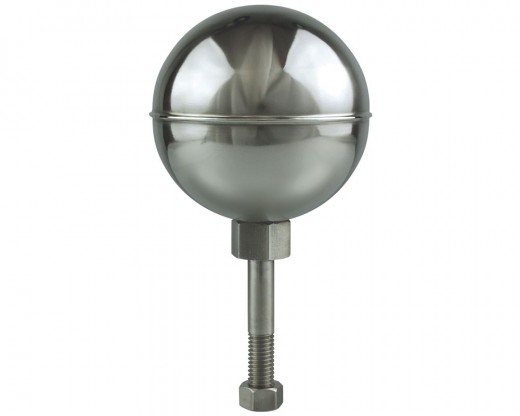 Stainless Steel Flagpole Ball, Mirror