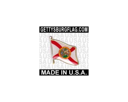 Florida State Flag Lapel Pin