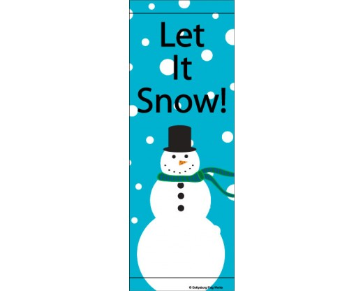 Frosty & Snow Avenue Banner