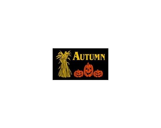 Autumn Pumpkins Flag - 3x5'